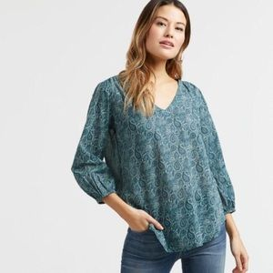 World Market • Paisley Anika Blouse